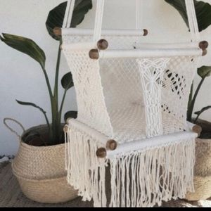 Other - New baby boho Crochet chairs